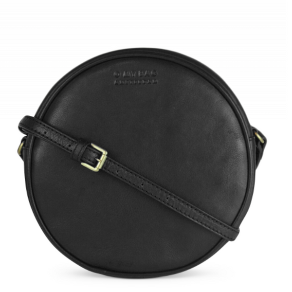 OMB Luna Bag Black Soft Grain Leather