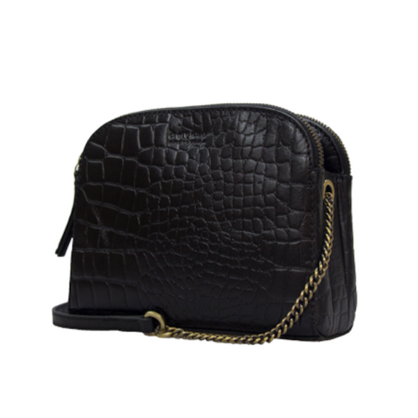 OMB Emily Bag Black Croco