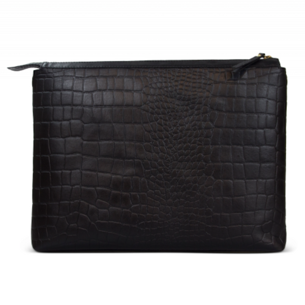 Scarlet Bag Black Croco