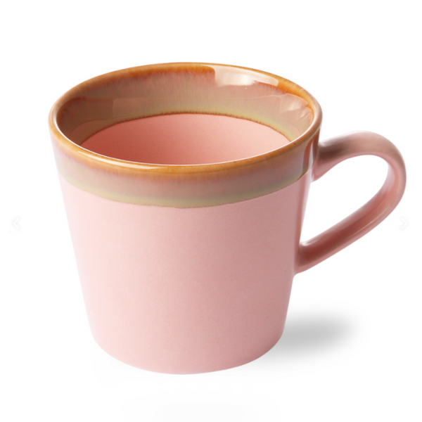 70's Cappuccino Mok Pink