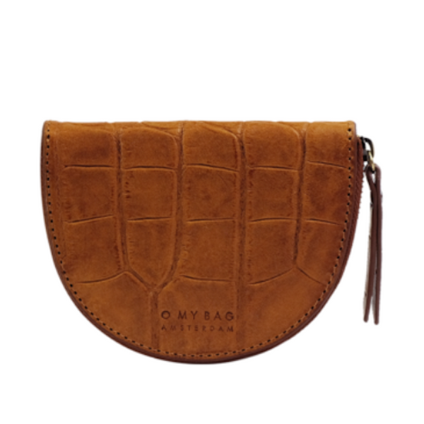 Laura Coin Purse Cognac Croco