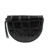Laura Coin Purse Black Croco