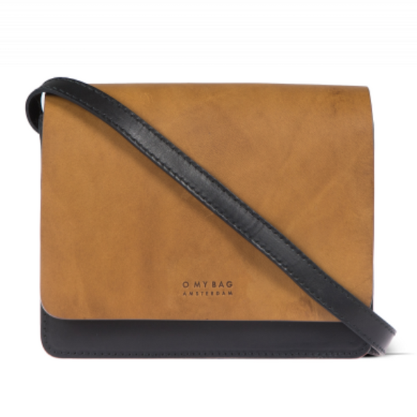 Audrey Mini Bag Black Cognac