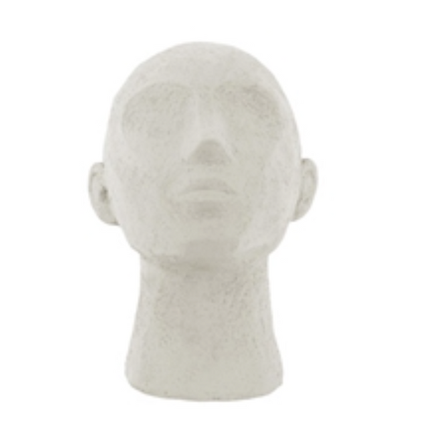 Abstract Head Chin Up