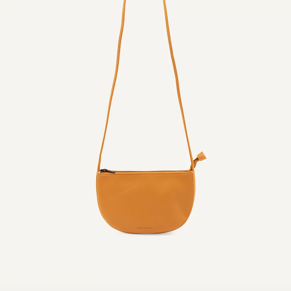 Farou Half Moon Bag Honey