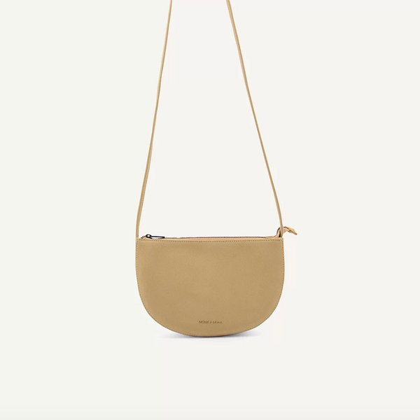 Farou Half Moon Bag Straw