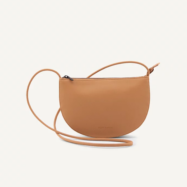 Farou Half Moon Bag Cashew