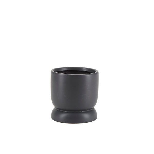 Cilinder Bloempot Small Black