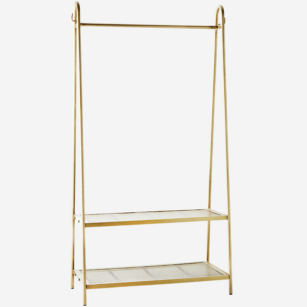 Rek Brass With Shelves