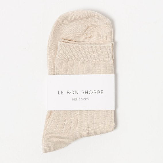 Le Bon Shoppe Socks Her - Porcelain