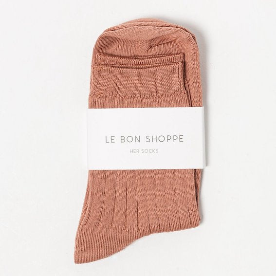 Le Bon Shoppe Socks Her - Nude Peach
