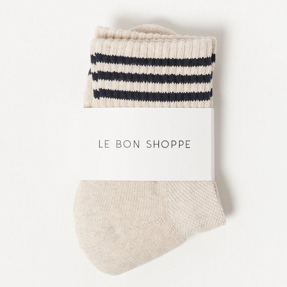 Le Bon Shoppe Socks Outmeal