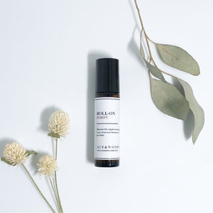 ACE & WOODS Essential Oil Roll-on : PURIFY