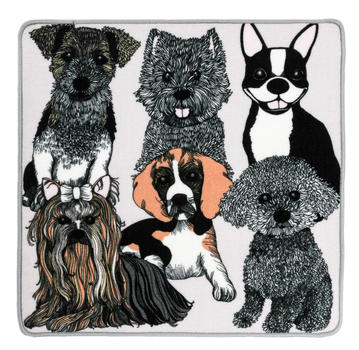 Doggies matto 80X80 cm