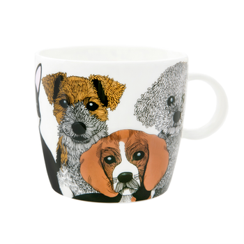 Doggies mugg 3,5 dl