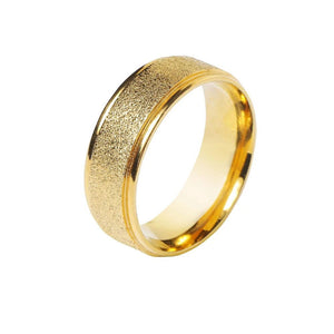 Load image into Gallery viewer, Golden Titanium Steel Metal Ring Decoration for Ties (4530051711057)