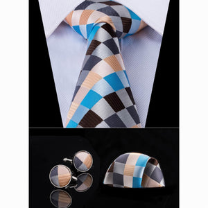 Load image into Gallery viewer, [Mens_Silk_Necktie] - DiBanGuStore (575612452906)