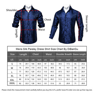 Load image into Gallery viewer, Blue Paisley Men's Shirt