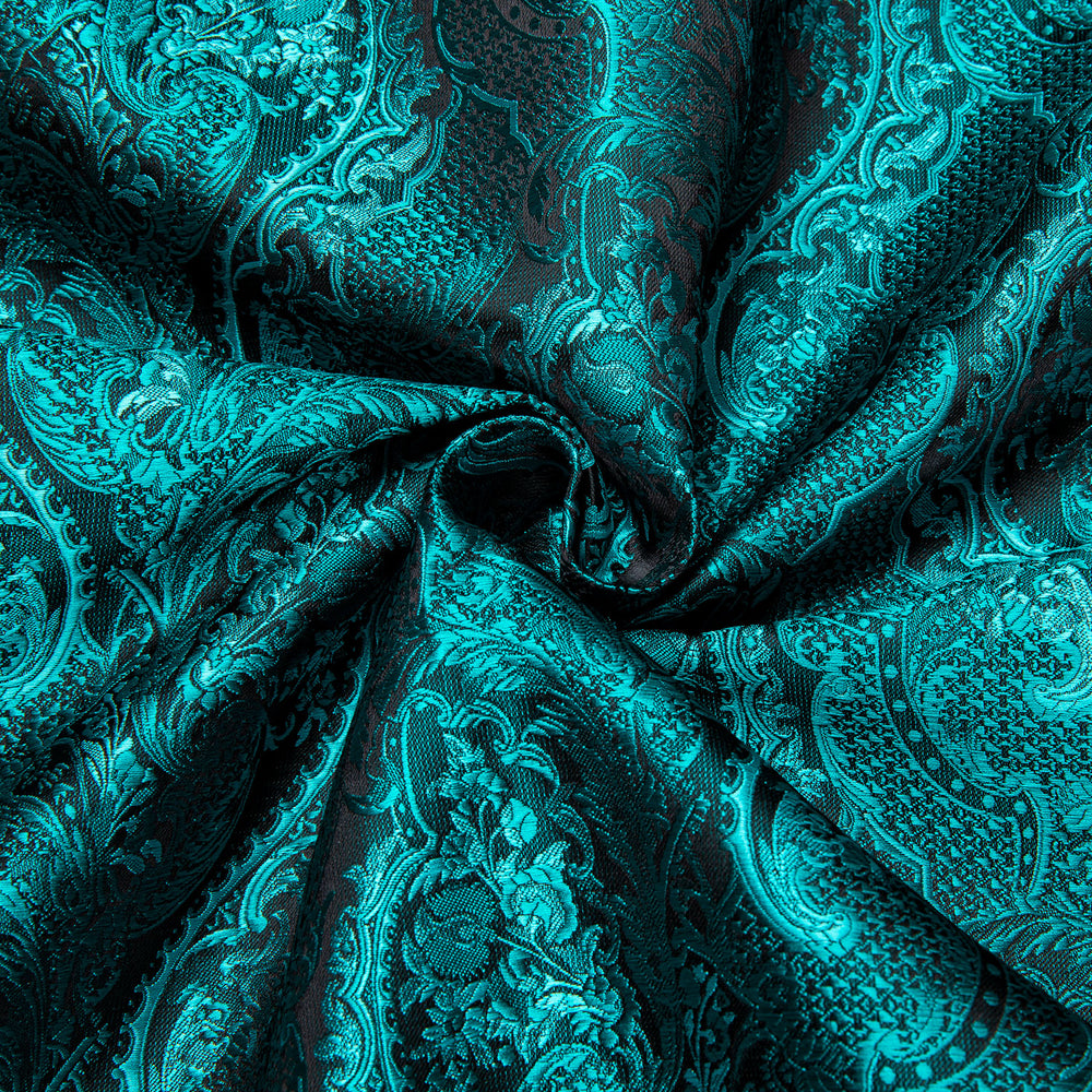 Load image into Gallery viewer, Green Paisley Men's Shirt