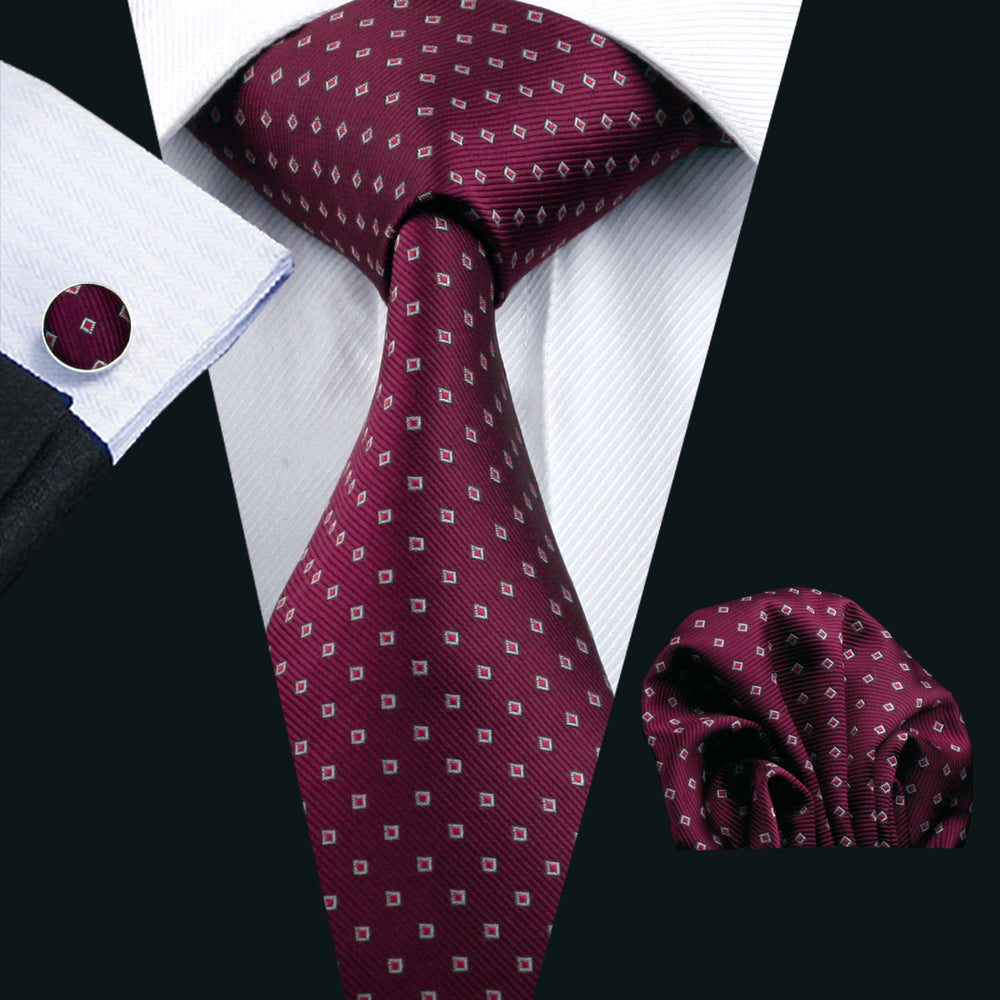 Load image into Gallery viewer, [Mens_Silk_Necktie] - DiBanGuStore (578550530090)