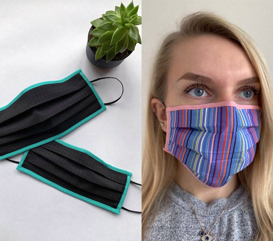 Uniform designers Fashionizer diverts resources to make washable face masks for general public use