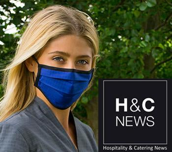 HOSPITALITY & CATERING NEWS: Sustainable hospitality face masks