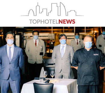 Will the new face of hospitality be wearing a face mask?