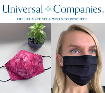 Fashionizer Spa Uniforms partners with Universal Companies to distribute washable face masks in the United States