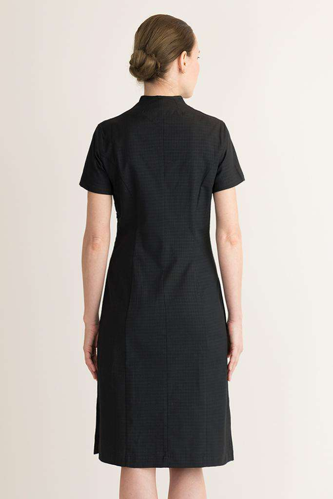 Black Housekeeping Dress organic cotton