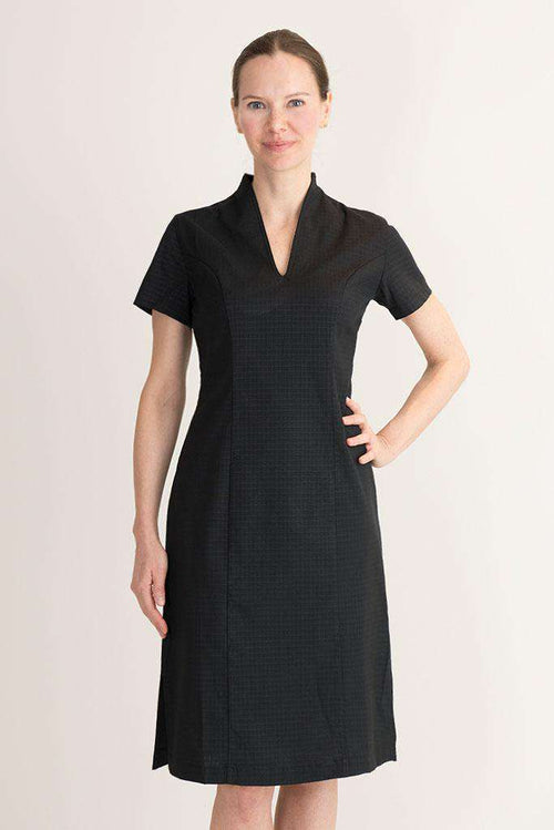 Black housekeeping dress