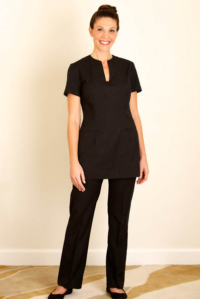 Womens Black Housekeeping Trousers for hotels