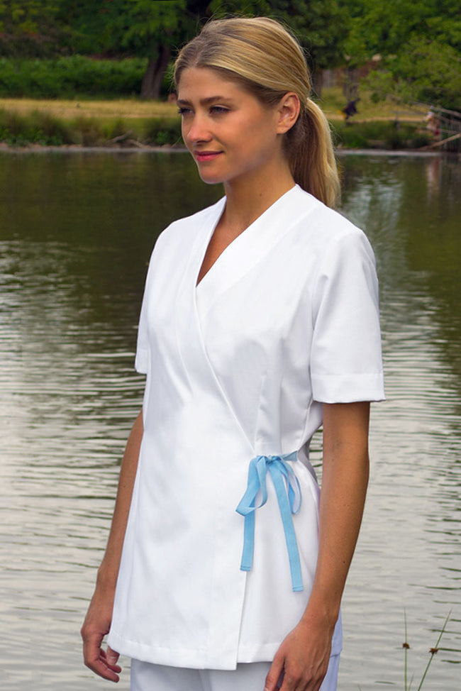 Spa tunic white PPE