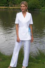 White PPE Hospitality Trousers
