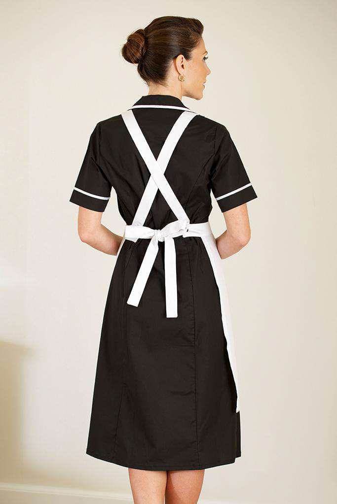 Bow tie womens housekeeping apron