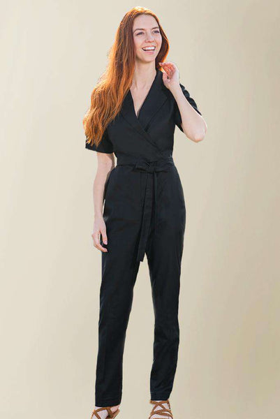 Housekeeping Black Jumpsuit - Fashionizer Uniforms