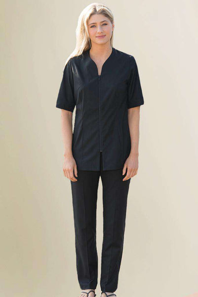 Black Housekeeping Sustainable Trousers - Fashionzier Uniforms