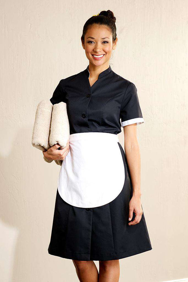 Housekeeping White Apron - Fashionizer Uniforms
