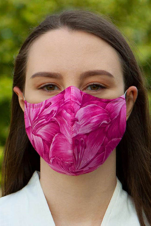 Pink Fashion Face Mask