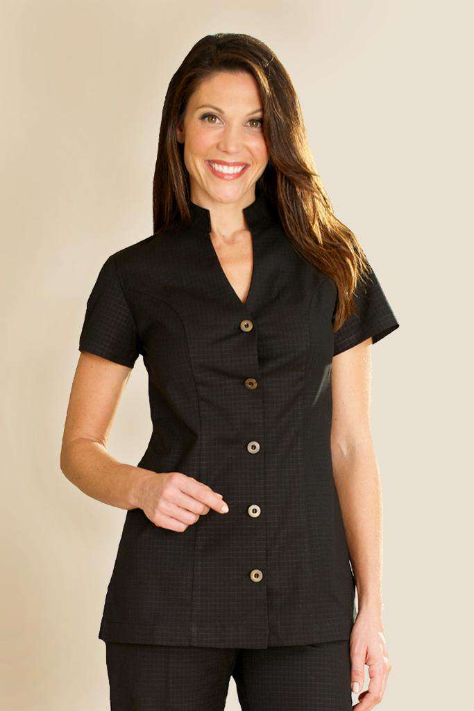 Housekeeping Female Tunic Black - Fashionzier Uniforms
