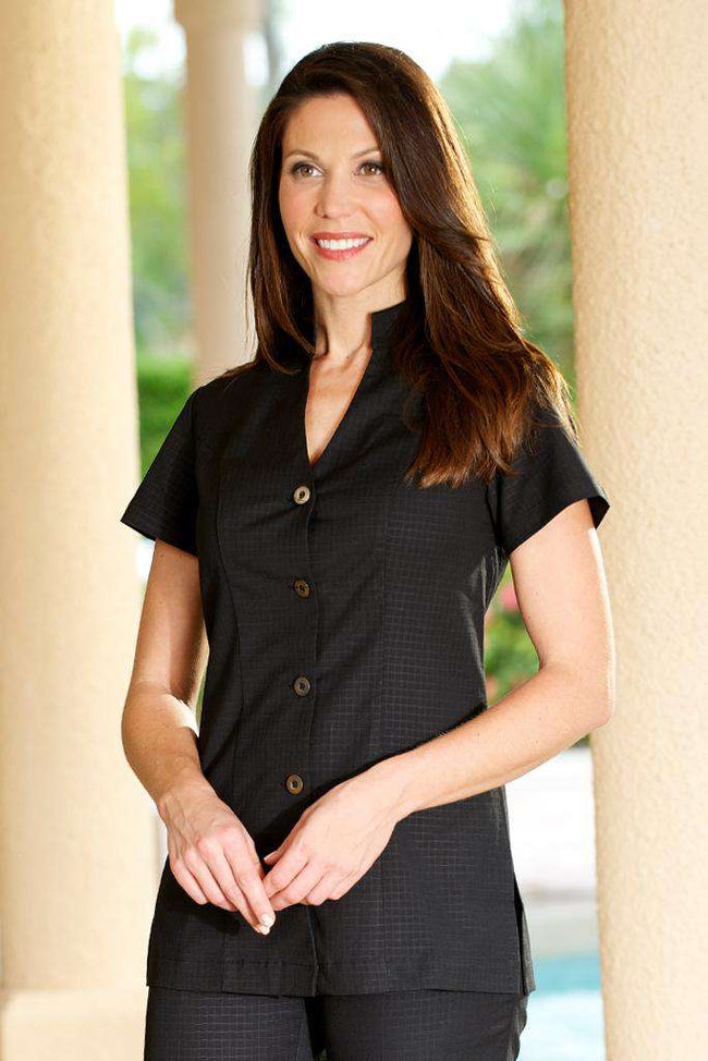 Housekeeping Female Tunic Black