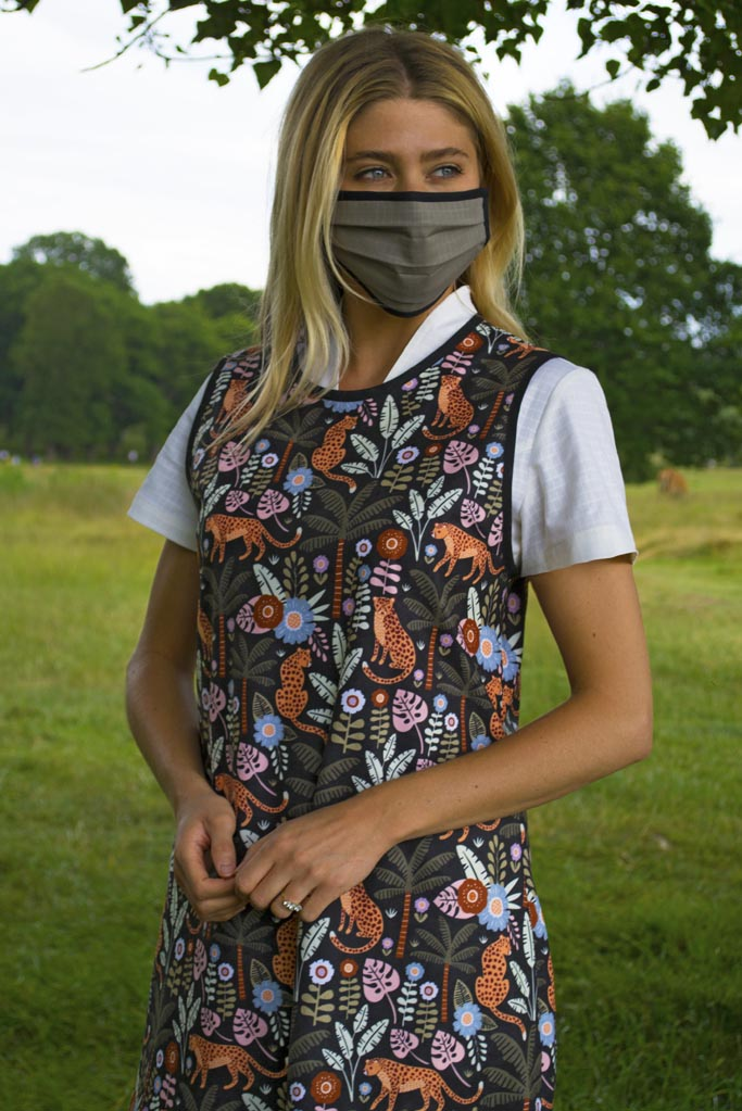 Jungle Print PPE Apron for nursery