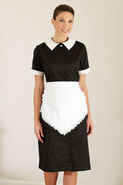 Lace Housekeeping Apron - Fashionizer Uniforms