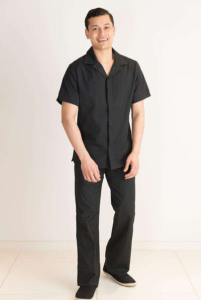 Black Mens Housekeeping Uniform Trousers