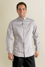 Grey Mens food and beverage Shirt