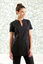 Stylish Ladies Housekeeping Black Tunic
