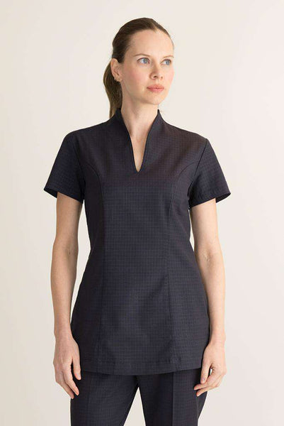 Female Oriental Housekeeping Tunic Black - Fashionizer Uniforms