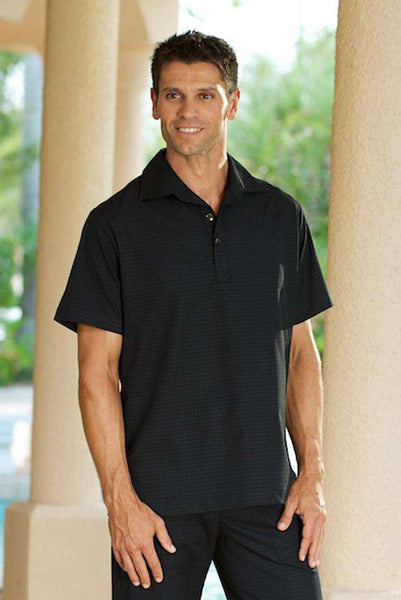 Mens Black Housekeeping Shirt - Fashionizer Uniforms