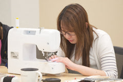 Beary Naise sewing corporate workshop