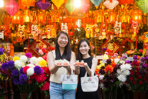 Make Your Magical Rainbow Unicorn Orange Tote With Crochet And Sewing For CNY