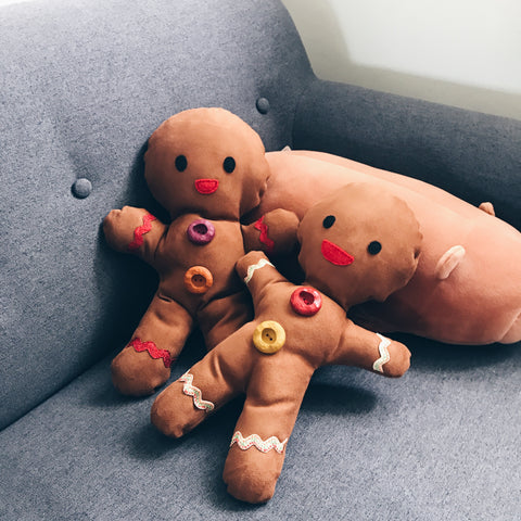 Cuddly Gingerbreadman Sewing Workshop